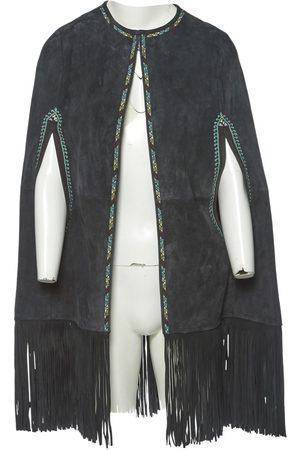 Talitha Grey Suede Jacket