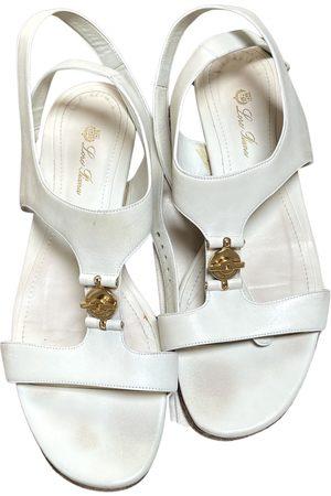 Loro Piana Leather sandal