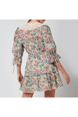 Coach Women Party Dresses - Women's Printed Mini Tiered Dress