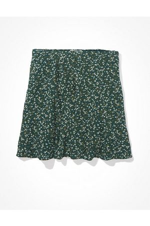 American Eagle Outfitters Floral Godet Mini Skirt Women's XXS