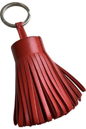 Hermès Carmen leather key ring