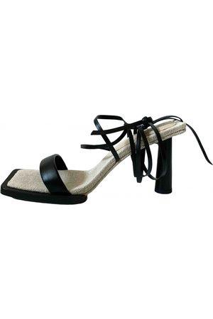 Jacquemus Rond Carré cloth sandal
