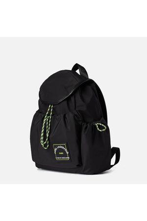 Karl Lagerfeld Women Rucksacks - Women's Rsg Patch Nylon Draw Backpack