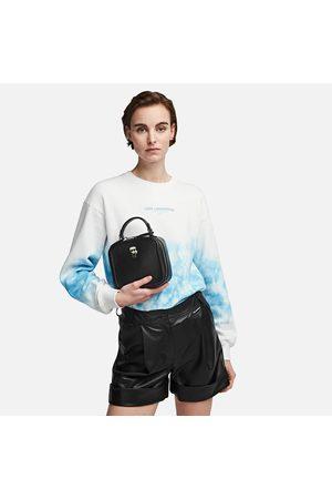 Karl Lagerfeld Women Bags - Women's K/Ikonik Leather Th Cross Body Bag
