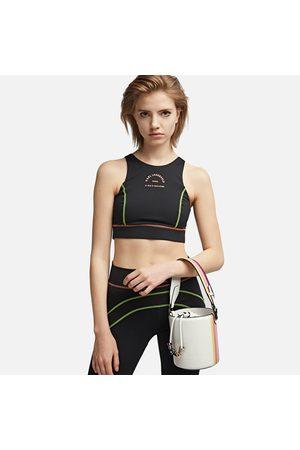 Karl Lagerfeld Women Bags - Women's K/Charms Stripes Small Bucket Bag