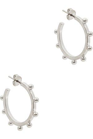 Isabel Marant Women Earrings - Tone hoop earrings