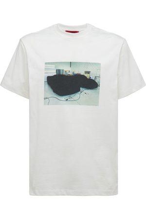 424 FAIRFAX Men T-shirts - Printed Cotton T-shirt
