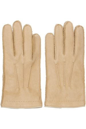 MARIO PORTOLANO Men Gloves - Shearling Gloves