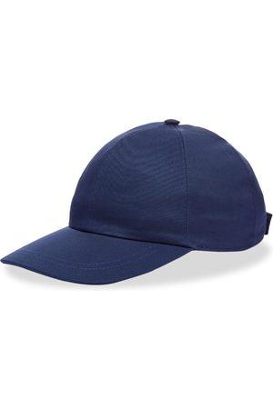 Gucci Men Caps - Leather Logo Baseball Cap