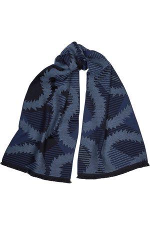 Vivienne Westwood Women Scarves - Navy wool scarf