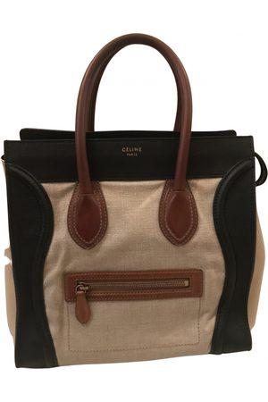 Céline Luggage leather bowling bag