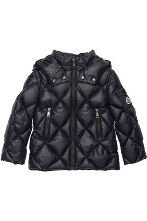 Moncler Kamile Hooded Nylon Down Jacket