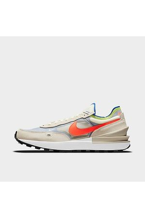 Nike Men Casual Shoes - Men's Waffle One Casual Shoes in Beige/Coconut Milk Size 7.5 Suede