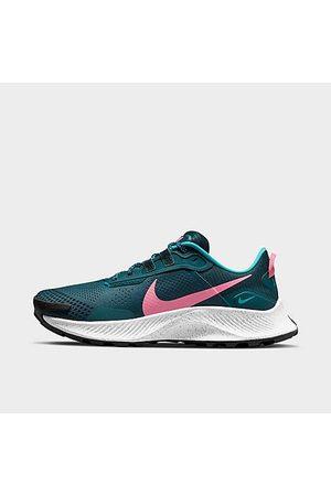 Nike Women Running - Women's Pegasus Trail 3 Running Shoes in /Dark Teal Size 5.0