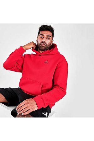 Nike Men Hoodies - Jordan Men's Essentials Fleece Pullover Hoodie in /Gym Size Small Cotton/Polyester/Fleece
