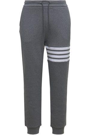 Thom Browne Stripes Cotton Sweatpants