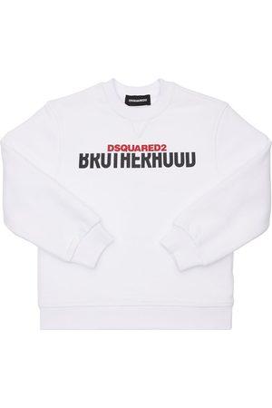Dsquared2 Logo Print Cotton Sweatshirt