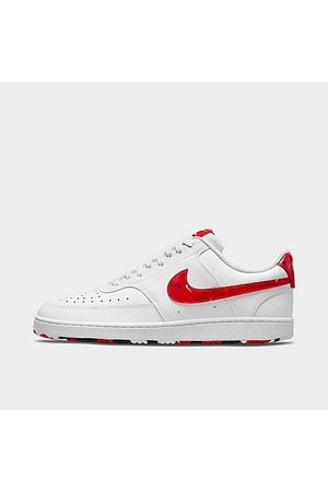 Nike Men Casual Shoes - Men's Court Vision Low Casual Shoes in / Size 8.0 Leather