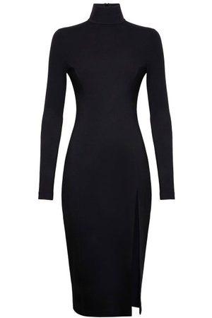 Wolford X Amina Muaddi Women Casual Dresses - Side-slit Jersey Dress - Womens