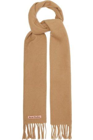 Acne Studios Canada Skinny New Wool Scarf - Womens - Camel