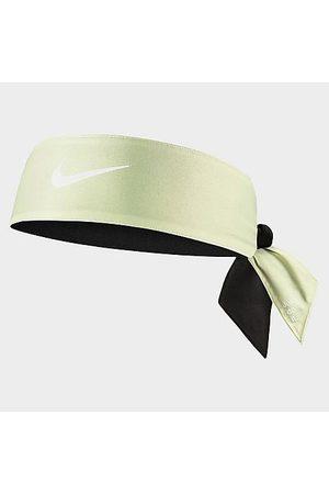 Nike Men Neckties - Dri-FIT Reversible Head Tie 4.0 in / /Lime Polyester/Spandex