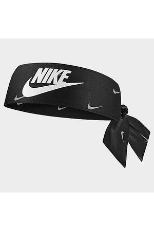 Nike Men Neckties - Dri-FIT Allover Print Swoosh Head Tie 4.0 in / Polyester/Spandex