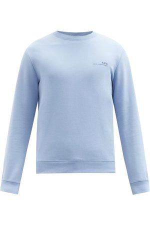 A.P.C. Item Logo-print Jersey Sweatshirt - Mens