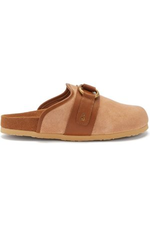 See by Chloé Gema Suede Backless Loafers - Womens