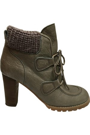 See by Chloé Leather lace up boots