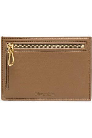 Nanushka Wallets - Zip-up logo-print wallet