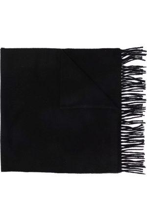 Acne Studios Logo patch cashmere scarf