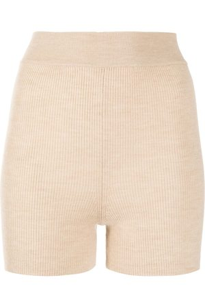Cashmere In Love Alexa ribbed-knit biker shorts