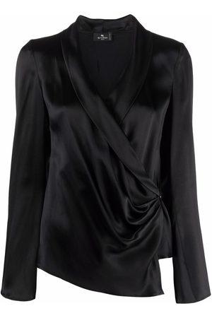 Etro Women Wrap tops - Wrap v-neck top