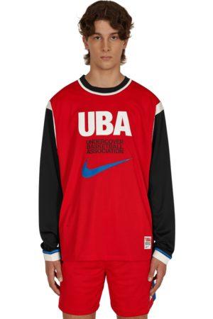 Nike Men Long Sleeve - Undercover long sleeve mesh shooting top UNIVERSITY /BATTLE XS