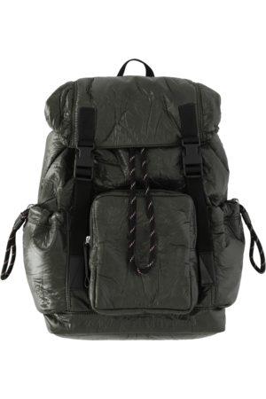 DRIES VAN NOTEN Men Rucksacks - Crinkled nylon backpack KAKI U