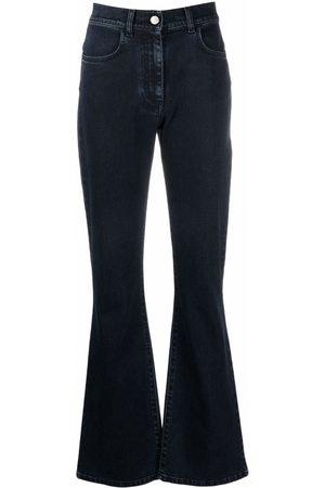 Alberta Ferretti Women High Waisted - High-rise flared jeans