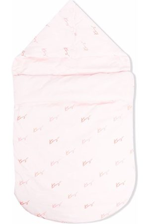 Kenzo Baby Changing Bags - Logo-print sleep bag