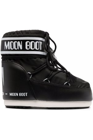 Moon Boot Lace-up Boots - Logo print lace-up boots