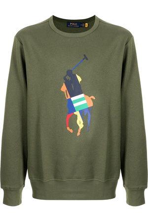 Polo Ralph Lauren Men Sweatshirts - Logo-print cotton sweater