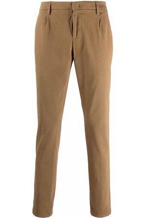 Dondup Straight-leg chino trousers - Neutrals