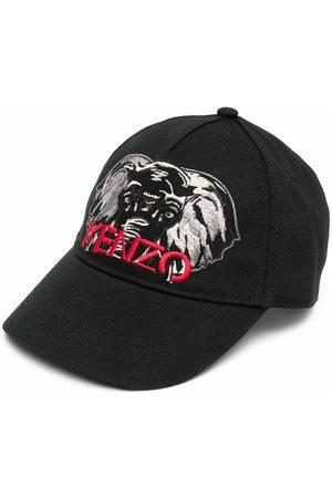 Kenzo Boys Caps - Embroidered-logo baseball cap