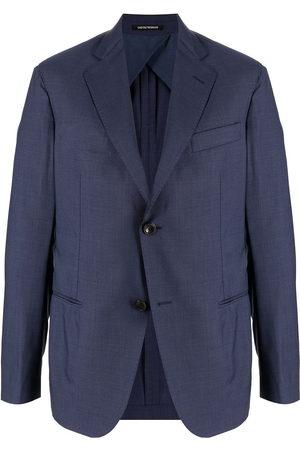 Emporio Armani Men Blazers - Single-breasted virgin wool blazer