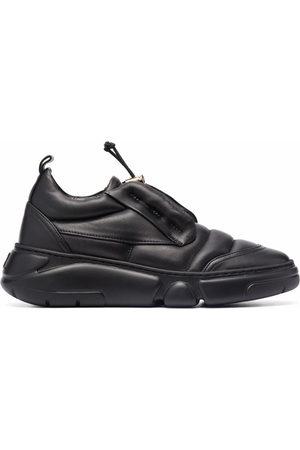 AGL ATTILIO GIUSTI LEOMBRUNI Venus drawstring sneaker - 1013 NERO-NERO