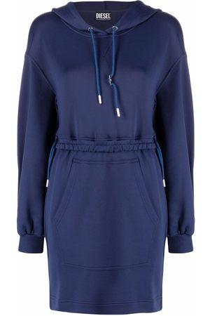 Diesel Cut-out sleeves hoodie dress