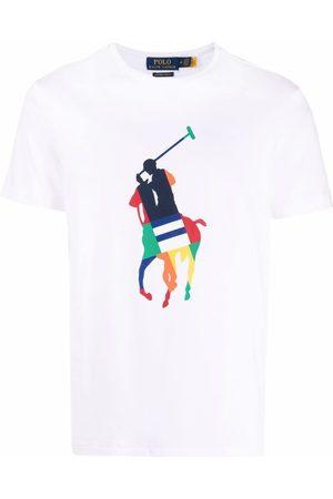Polo Ralph Lauren Men Polo Shirts - Polo Pony-print cotton T-shirt