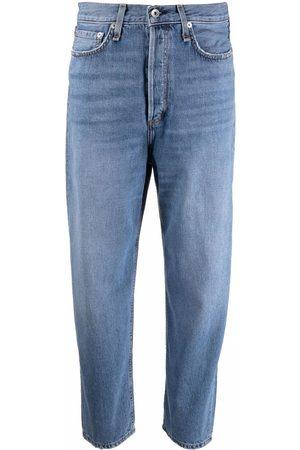 RAG&BONE Women High Waisted - High-rise wide-leg jeans