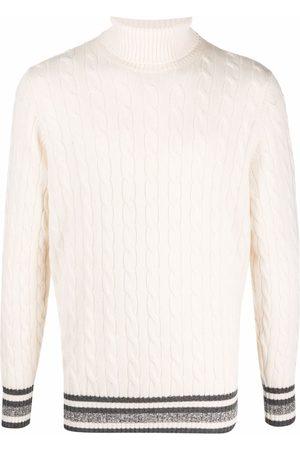 Brunello Cucinelli Cable-knit roll neck jumper