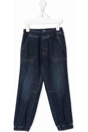 Il gufo Boys Jeans - Elasticated-ankle jeans
