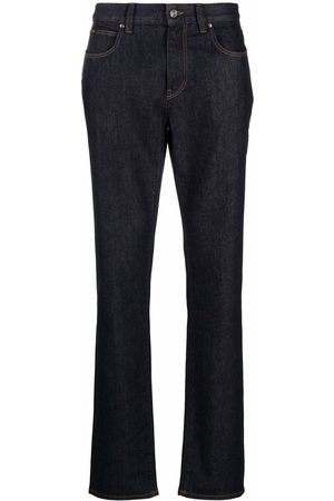 Z Zegna Mid-rise straight jeans