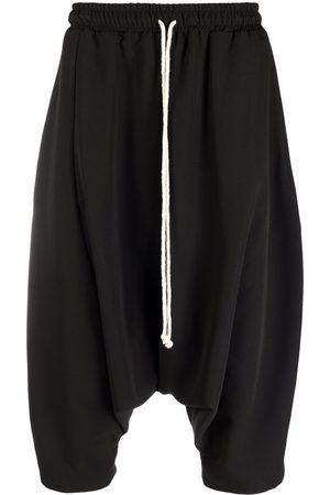 Alchemy Drawstring drop-crotch shorts